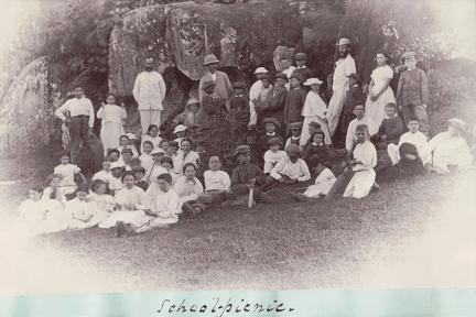 Group photo of School Picnic