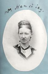 Portrait of Mrs Hendley