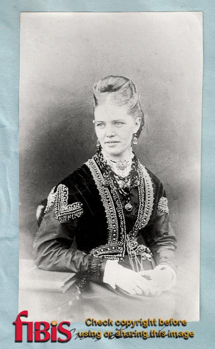 Portrait of Mrs Lamb