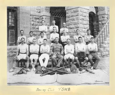 Boxing Club 1st South Wales Borderers