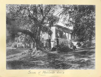 Scene of Havelock's death Lucknow