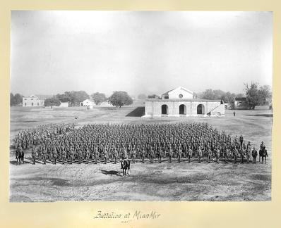 1st Battalion 24th Regiment of Foot at Mian Mir 1905