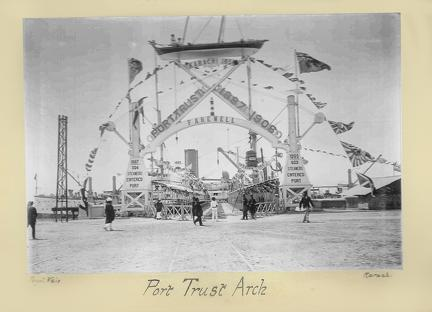 Royal Visit Karachi Port Trust Arch