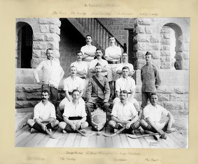 Hockey Team 1st Battalion 24th Regiment of Foot