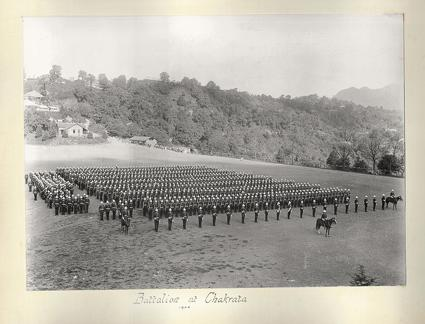 1st Battalion 24th Regiment of Foot at Chakrata 1900