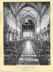 Interior of Memorial Church Cawnpore