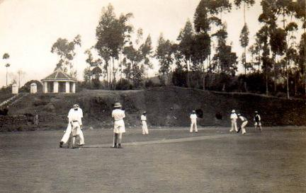 Cricket match at St Joseph's College Coonoor 1936