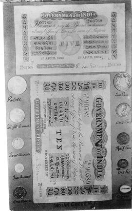 Indian Money 1915