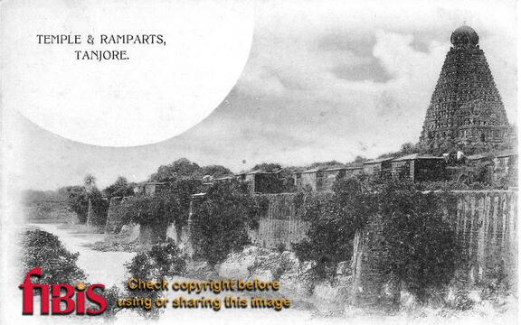 Tanjore Temple and Ramparts