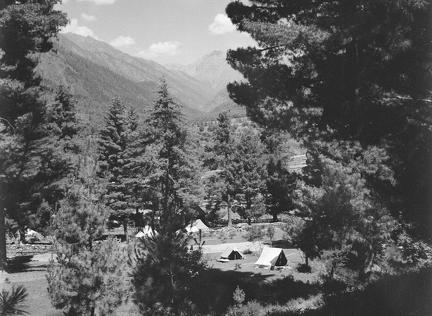 My Tents, Pahalgam from above