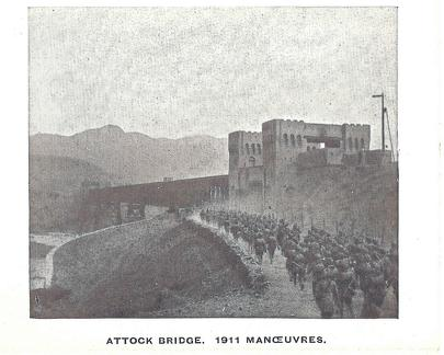 Attock Bridge 1911 Manoeuvres of 51st Sikhs Frontier Force