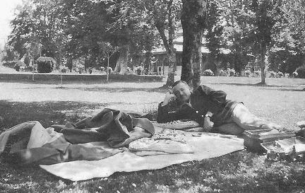 Camp at Bandipore, Kashmir 1924