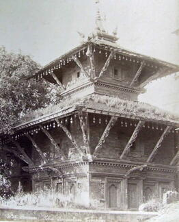 Nepalese Hindu Temple at Benares