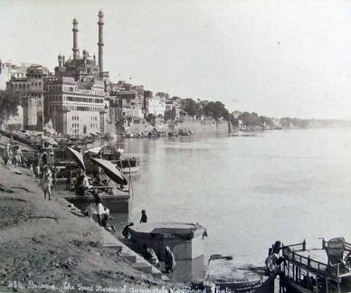 The Great Mosque of Aurangzeb, Varanasi, India