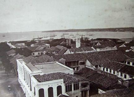 View of Colombo, Sri Lanka