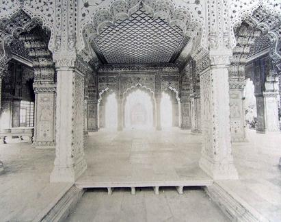 Diwan-i-Khas or hall of private audience, King's Palace Delhi