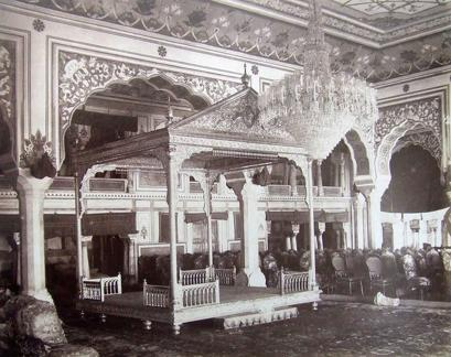 Interior of the Maharaja's Palace, Jaipur
