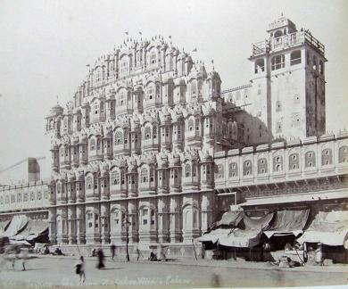 The Hawa Mahal or Wind's Palace Jeypore