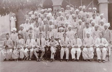 S.K. Kirpalani hands over as DC Jhelum 8th October 1933