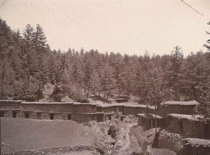 Village outside Murree, Kashmir 1920