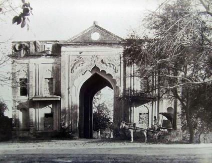 Gateway to Alum Bagh, Lucknow, India