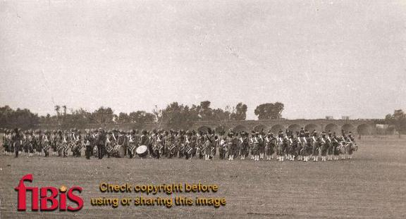 Massed Bands, Lahore New Years Day 1936