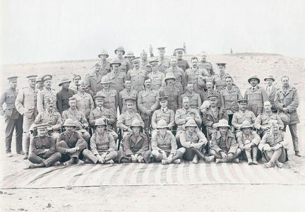Officers of the 1st Brigade Frontier Force, Peshawar 1912