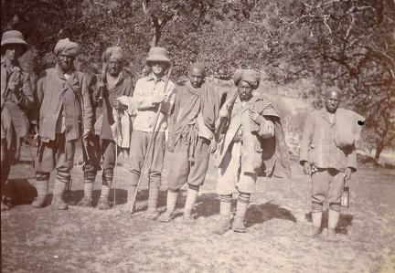 Ready to start trip up the Sind Valley, Kashmir May to June 1920