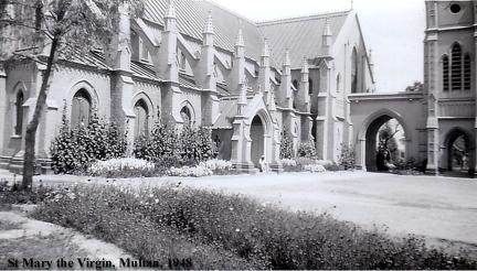 St Mary the Virgin, Multan, 1948