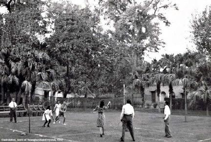 Badminton Court, Younghusband Hostel, Lahore