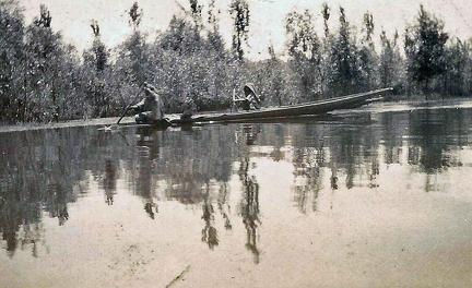 On Dal Lake, Srinagar, Kashmir 1920