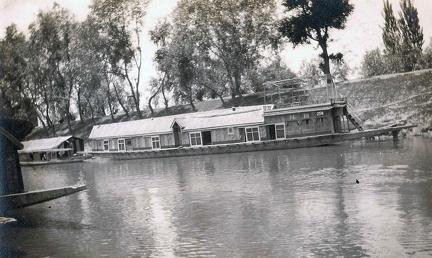 The Violet House Boat Dal Lake, Srinagar, Kashmir 1920