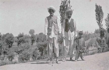 Father, Son and Grandson, Srinagar 1920