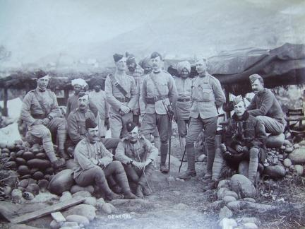 The Staff of the 1st Brigade Black Mountain Expedition 1888
