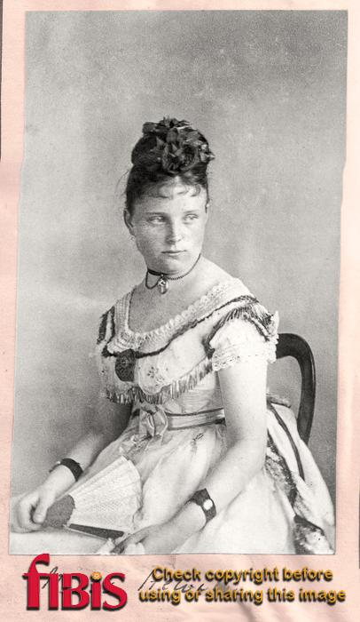 Portrait Miss Hewitt
