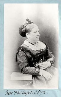 Portrait of Mrs Phillips