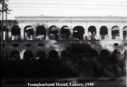 Younghusband Hostel, Lahore 1948